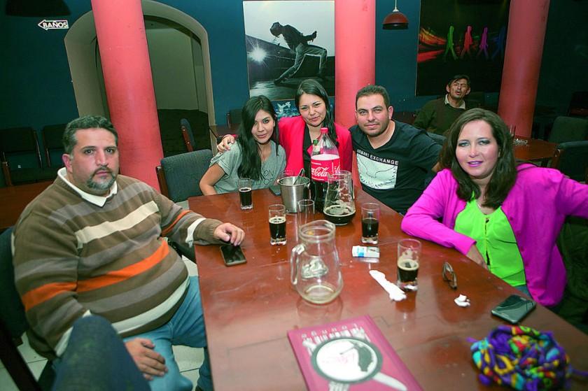 Alexey, Silene, Gabriela, Mario y Julia.