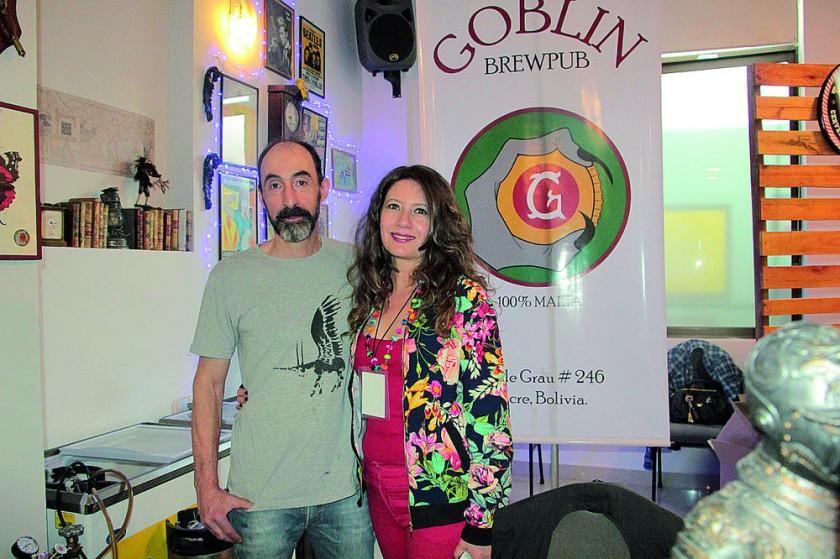 Goblin bar: Marcelo Villa y Mónica Calabi.