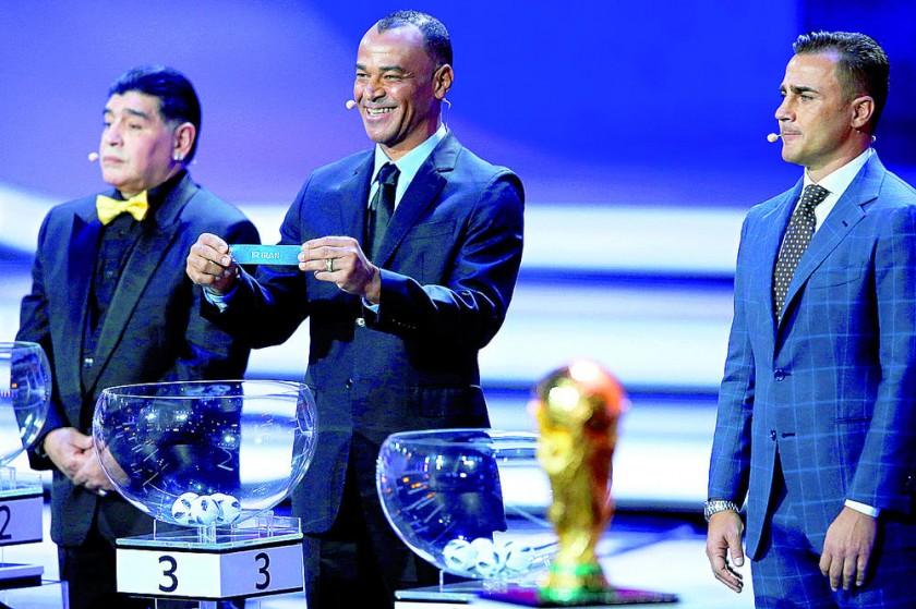 Corren apuestas para Rusia 2018 tras sorteo