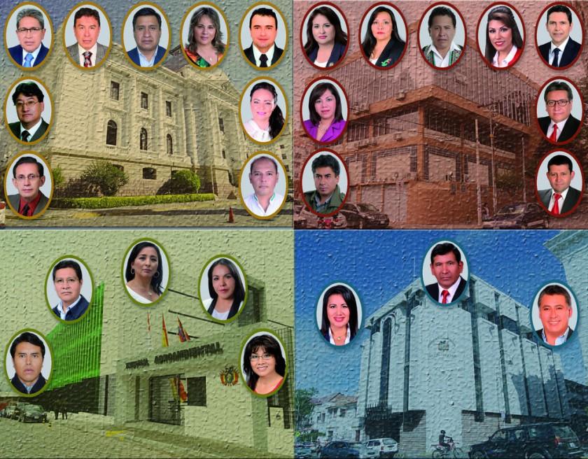 Voto nulo desluce la elección de las autoridades judiciales