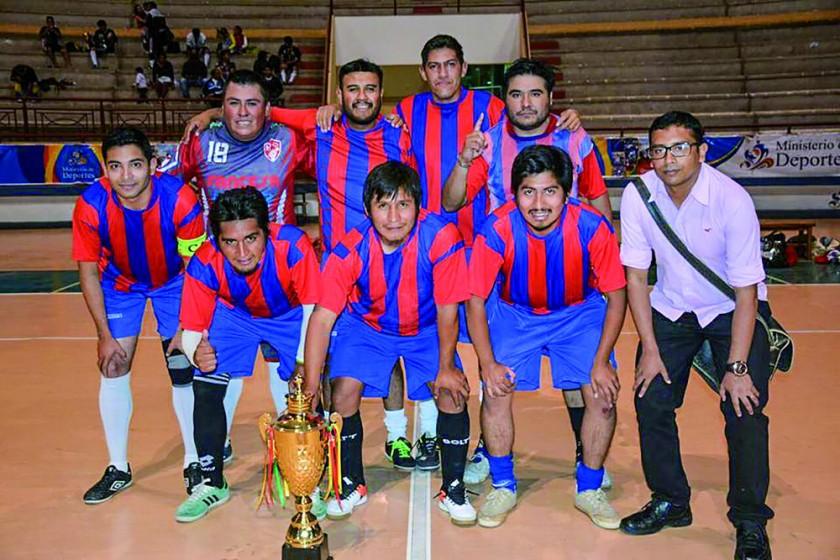 Fusión Deportiva conquistó el título del último torneo interno.