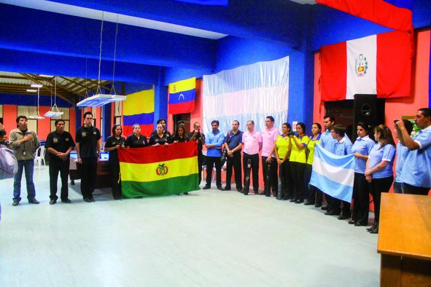 Los torneos se disputaron en la III Fase del estadio Patria.