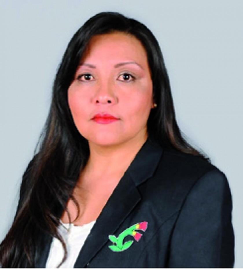 Goergina Amusquivar Oruro 38.09%