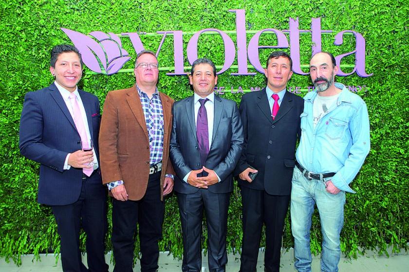 Erik Gutiérrez, Barlhemt Hamel, Carlos Carrasco, Juan Pablo Álvarez y Marcelo Villa.