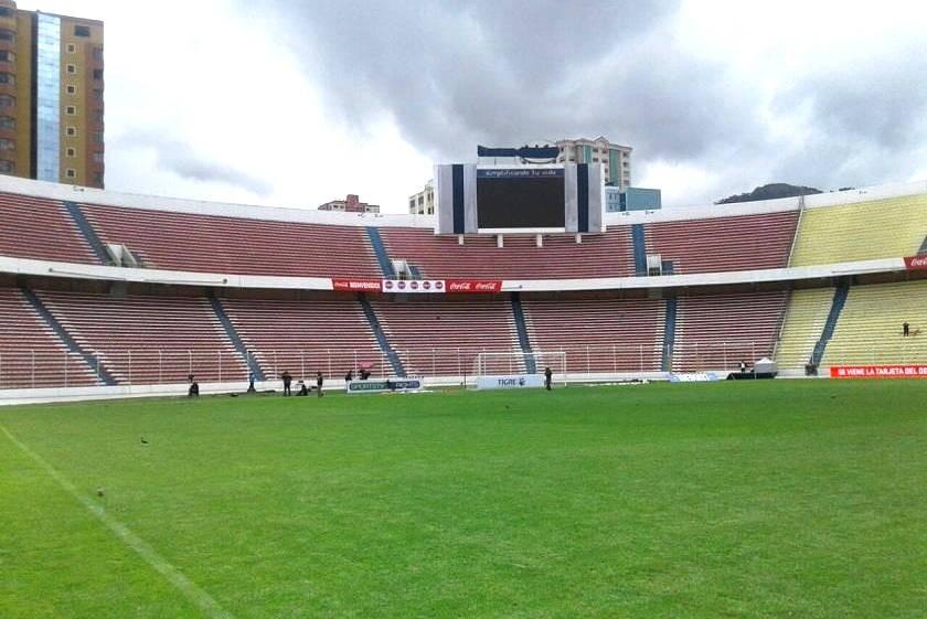 El estadio Hernando Siles es la casa de la Selección. Foto: Archivo