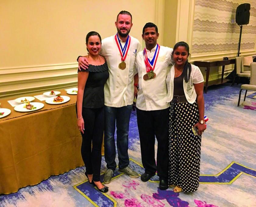 Nicolás Sánchez, un chef chuquisaqueño premiado en las Islas Caimán