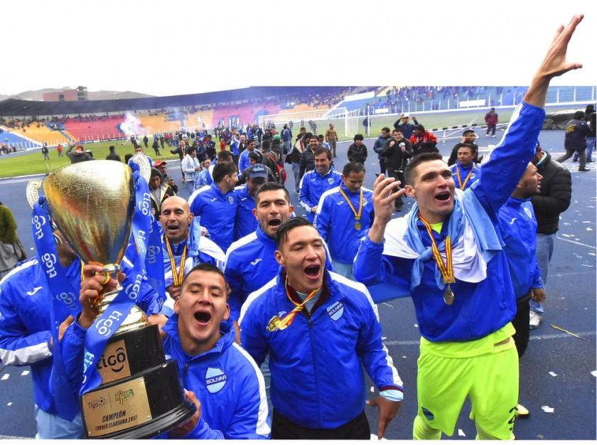 Bolívar, bicampeón de la Liga