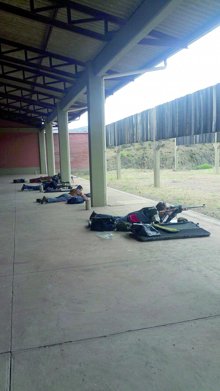 Los polígonos de Yotalilla recibieron el Nacional de tiro.