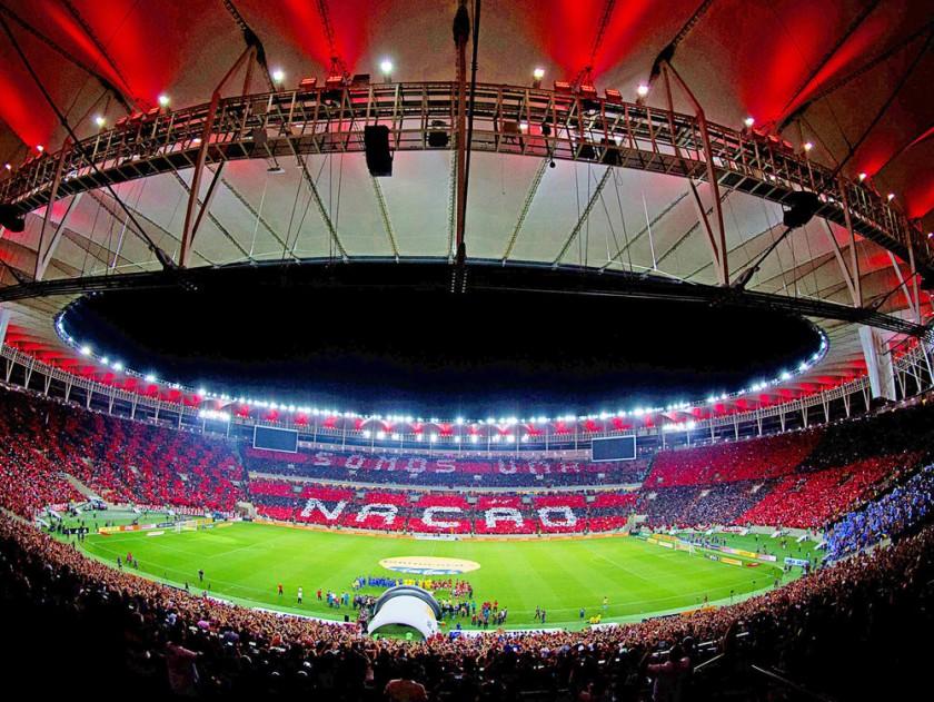 Independiente arribó ayer a Brasil, donde hoy pugnará por el título en el mítico estadio Maracaná.