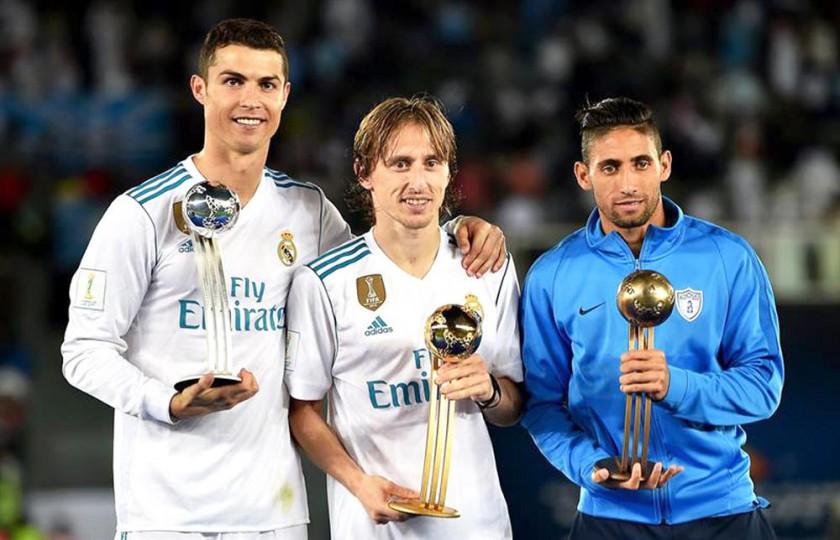 Modric, el mejor jugador del mundial de clubes