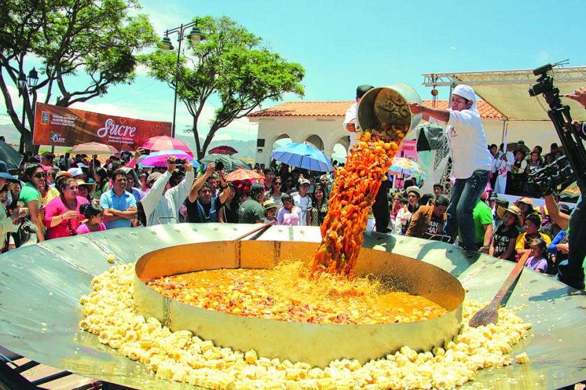 Picana, una gigantesca tradición