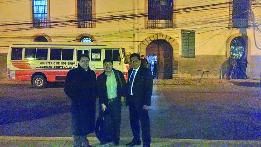 Condori sale libre y cumplirá en Sucre arresto domiciliario