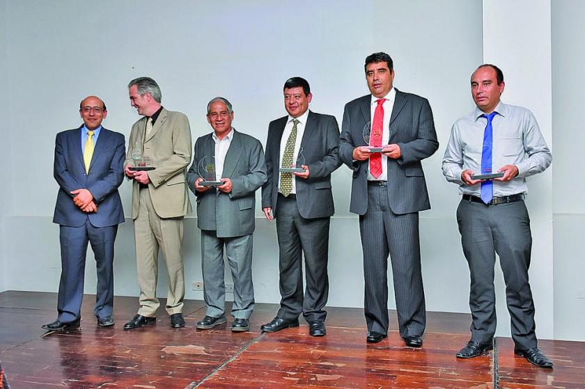 Empresas regionales reconocidas.
