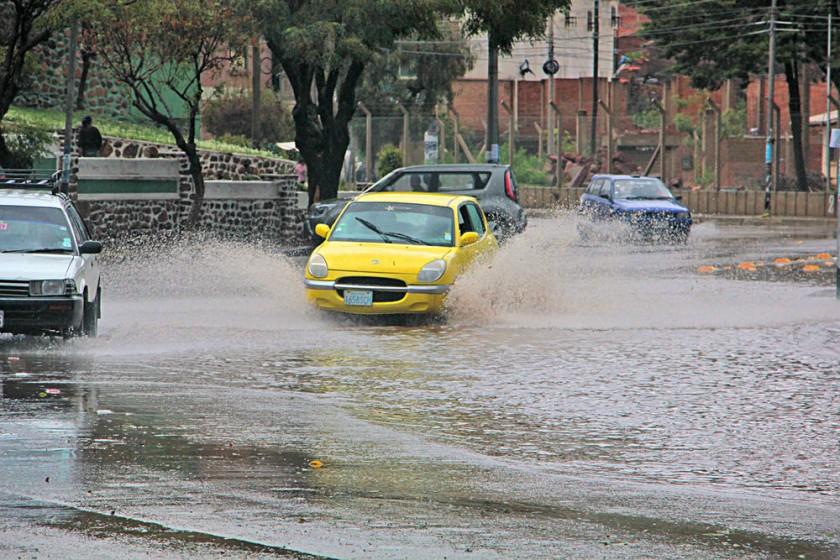 LLUVIAS. Si bien los 80 días de precipitación del año se equiparan con la media normal, muchas lluvias acumularon...