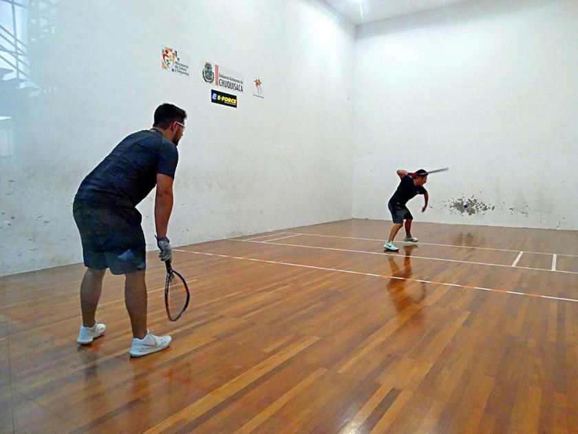 Bryan Zambrana y Sebastián Oña disputaron la final de la categoría Open Varones.