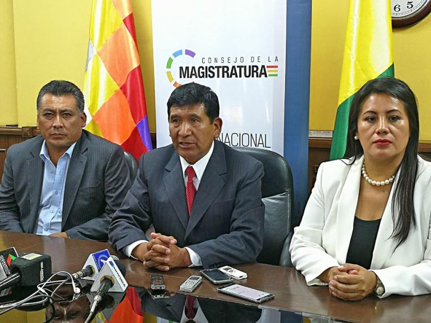 PRESIDENTES. José Antonio Revilla asumió en el TSJ y Gonzalo Alcón en el Consejo.