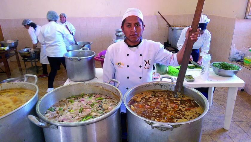 Habrán Siacra Chef de la Casona La Pascualita.