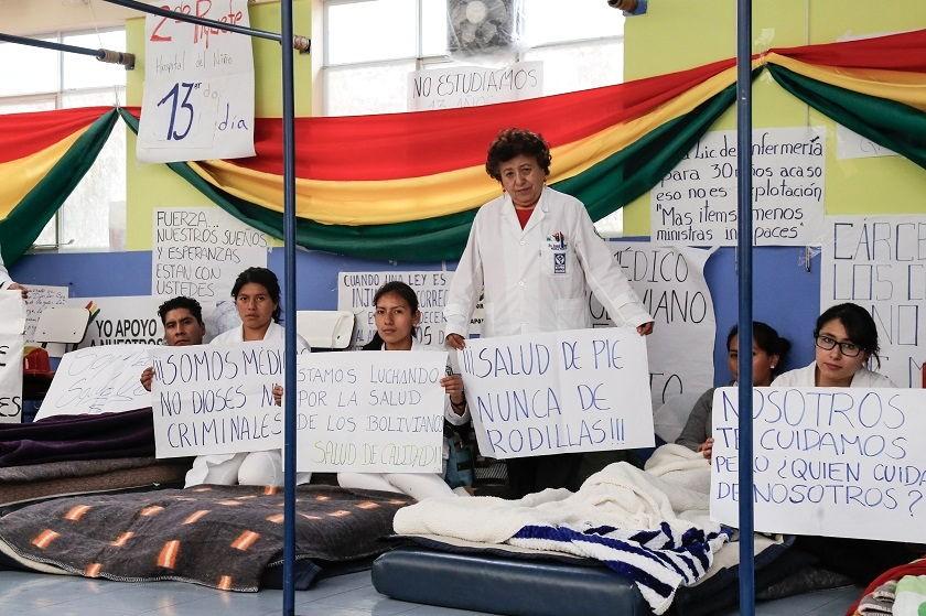 Los médicos ahora piden la abrogación de la norma. Foto: Marka Registrada