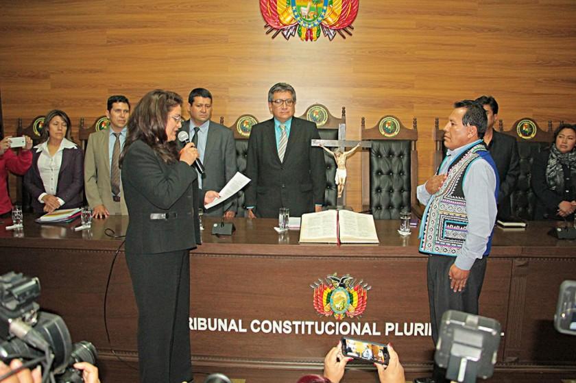 Se completan las presidencias en la Justicia; rechazan vínculo con el MAS