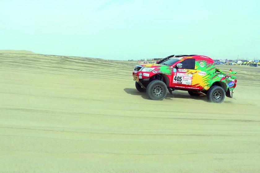 El Dakar ya emociona