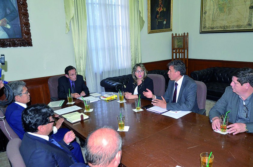 AUTORIDAD. La Sala Plena del TSJ elabora las nuevas políticas de gestión.