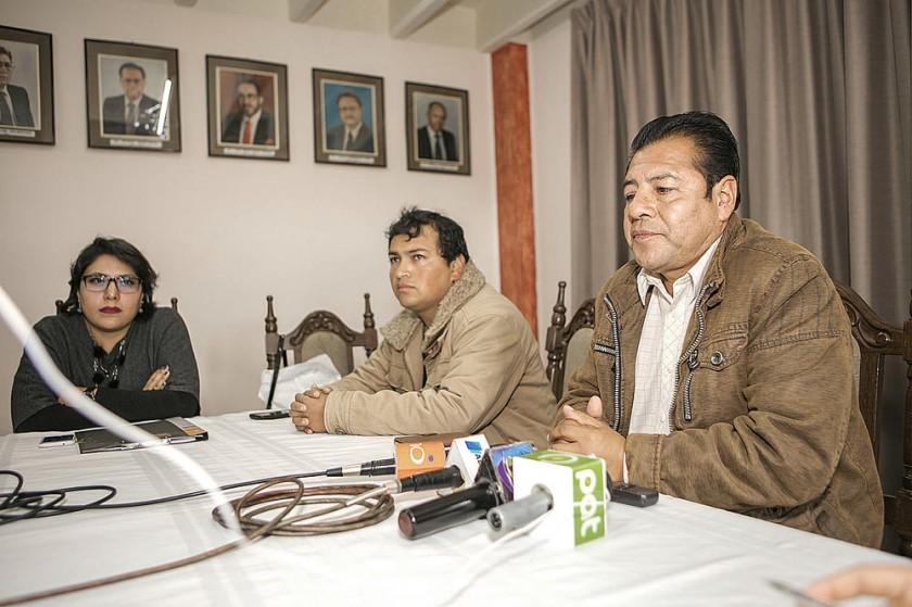 ANUNCIO. El Comité Departamental de Movilizaciones confirma el paro.