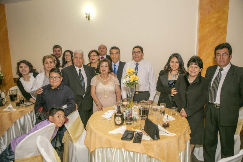 Familia Poveda Aguilar.