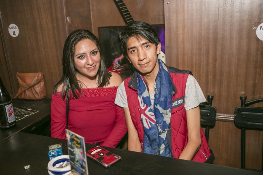 Jenny Rodas y Dani Colque.