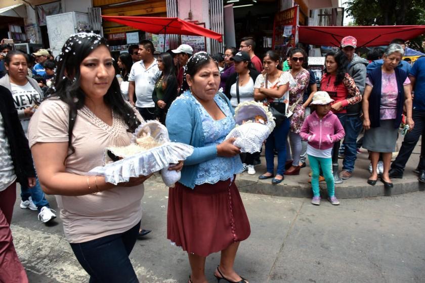 Niños del mercado Central.