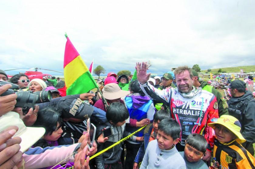 """Nosiglia se acerca al """"top ten"""" y su hijo Daniel llega séptimo a Bolivia"""