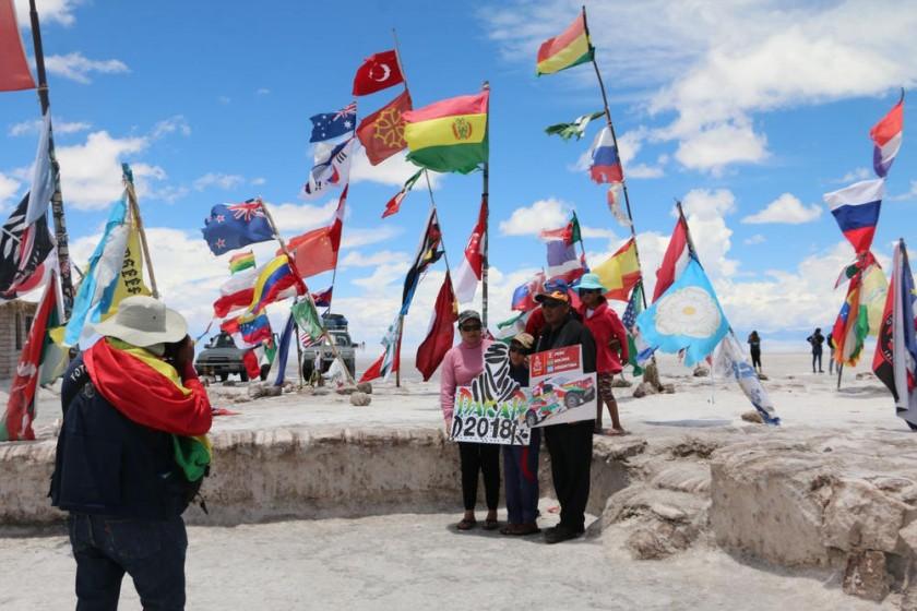 Rally Dakar llega a Uyuni en etapa de mayor exigencia