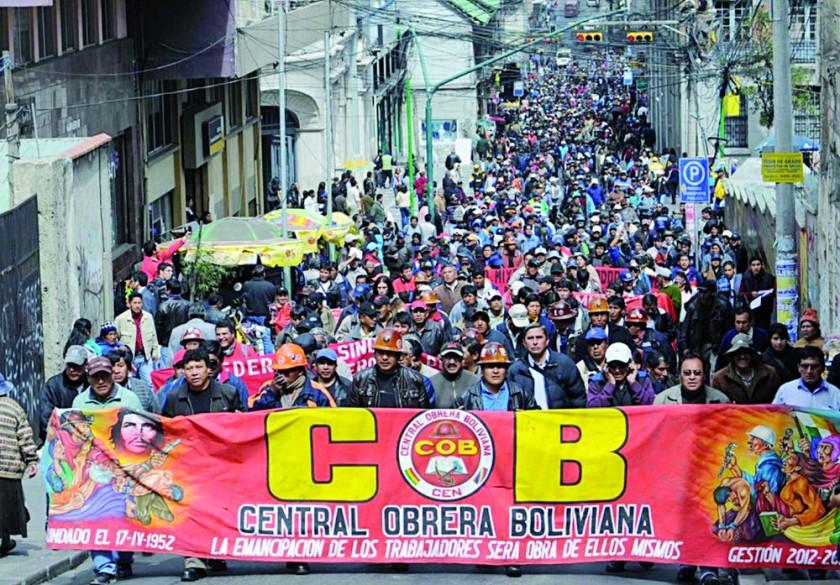 PROTESTAS. Varias movilizaciones están previstas para esta semana en distintas regiones.