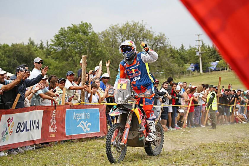 Matthias Walkner fue el primer austríaco en ganar el Dakar en motos.