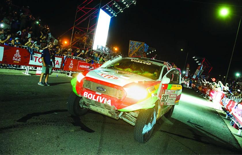 Se despide el rally Dakar más duro con sello boliviano