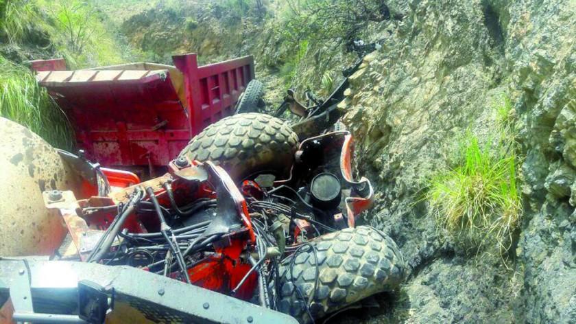 Accidentes dejan dos fallecidos y varios heridos en Sucre y Camargo