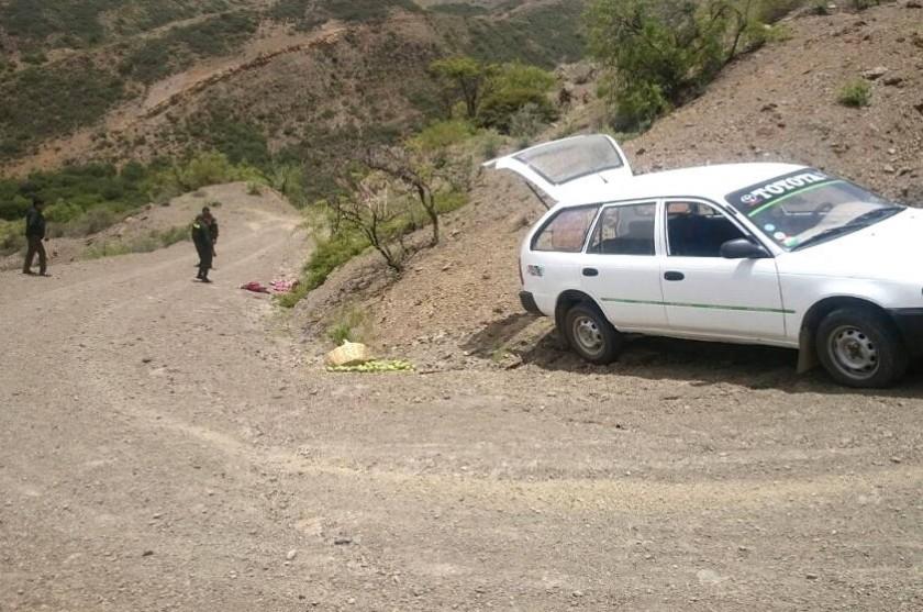 Los cuerpos fueron encontrados cerca de un vehículo abandonado. Foto: Gentileza