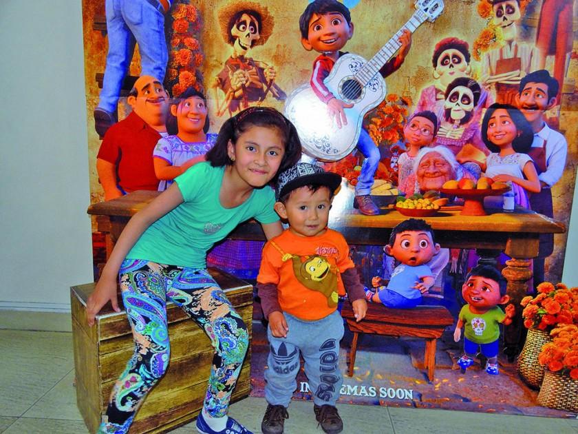 América Estrada y Santiago Vera