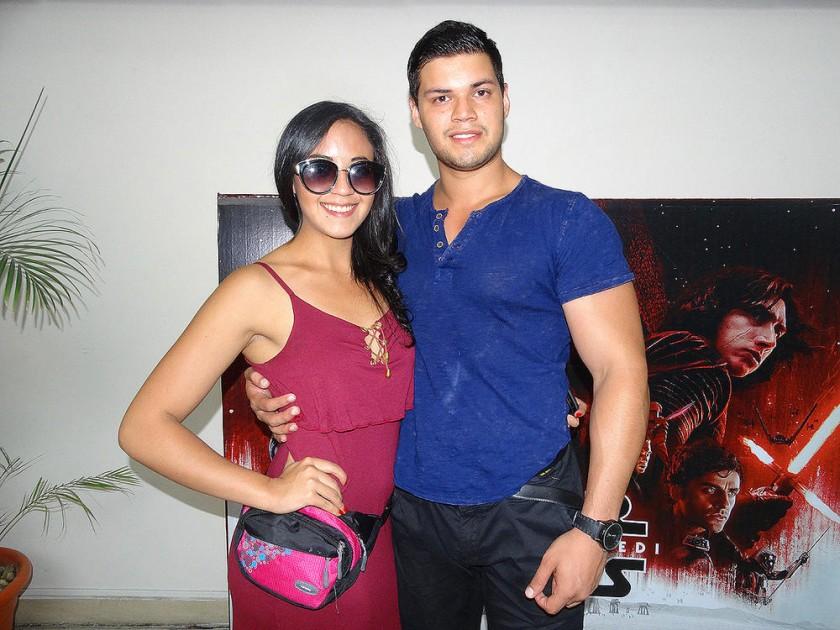 Nicole Gantier y David Caballero.