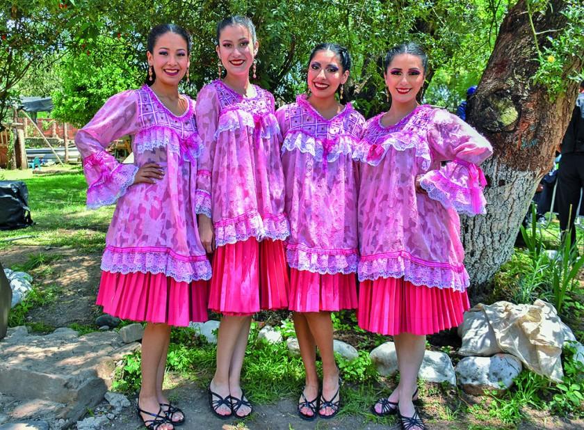 Felicia Bacinello, Andrea Flores, Viviana Martínez y Lizeth Navarro.