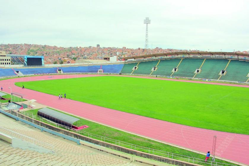 El estadio Patria tiene 26 años de vida y mucha historia.