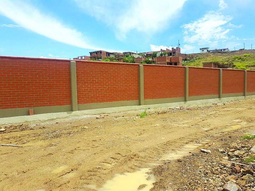 OBRAS. Algunos de los proyectos ya concluidos por los subcontratistas que reclaman pago conforme a contrato con...