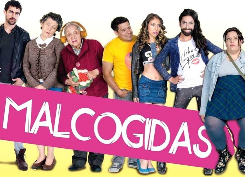 Uno de los afiches de Las Malcogidas. Foto: Internet