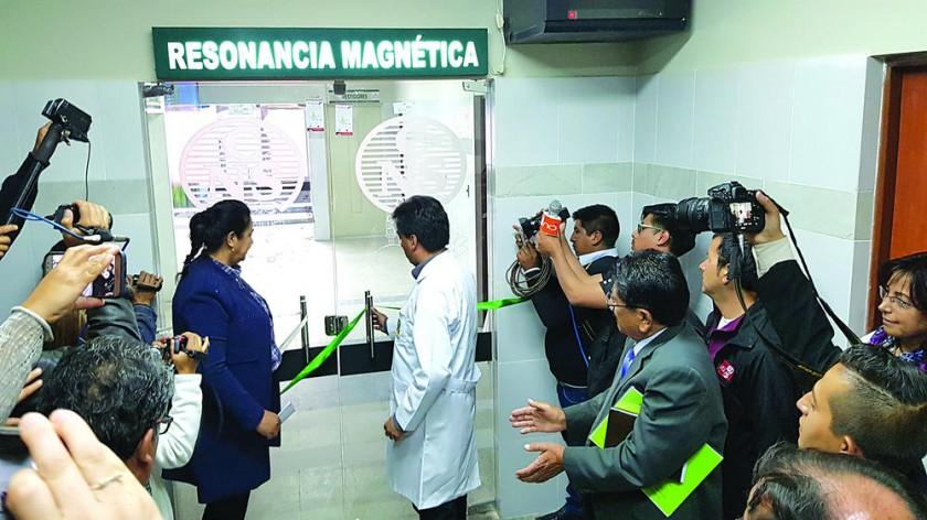 Resonancia magnética entra en servicio