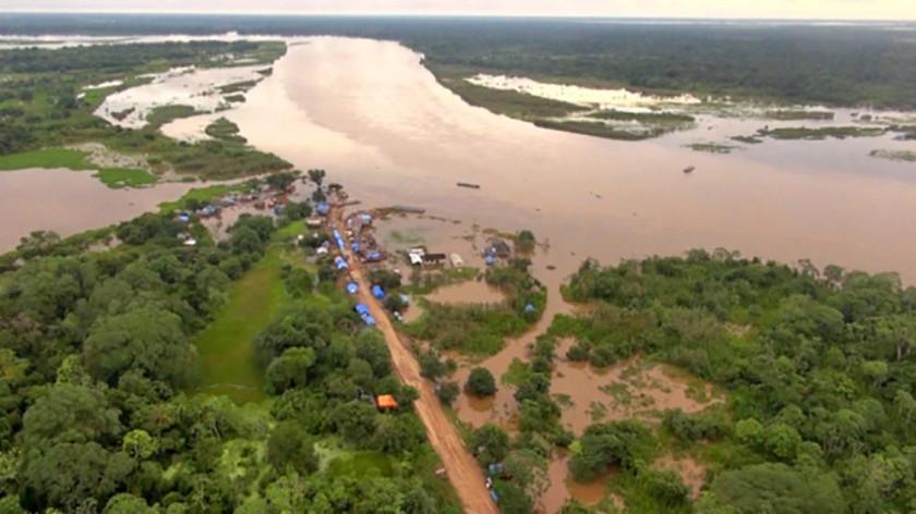 ALERTA. Los ríos de Santa Cruz y Cochabamba podrían desembocar con fuerza en Beni.