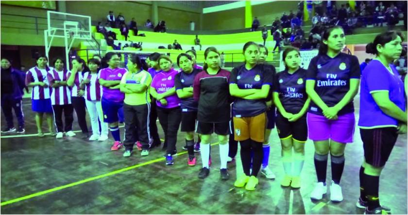 El torneo interno destacó por la participación de gente.