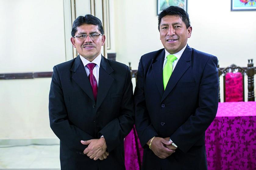Pascual Yampa y Ryldho Ramos.