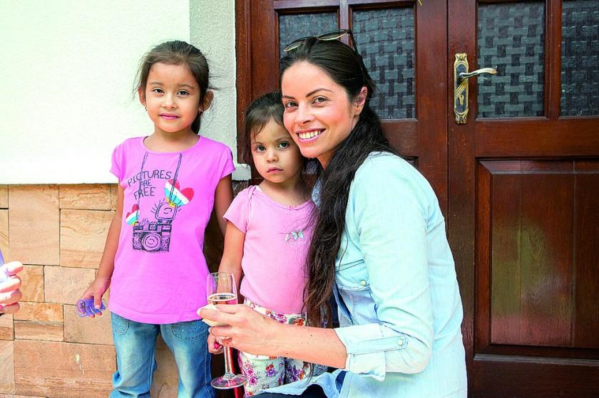 Luciana Martínez, Agustina Martínez y Eliana Linares.