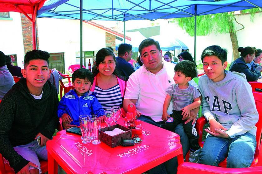 Familia Miranda Vallejos.