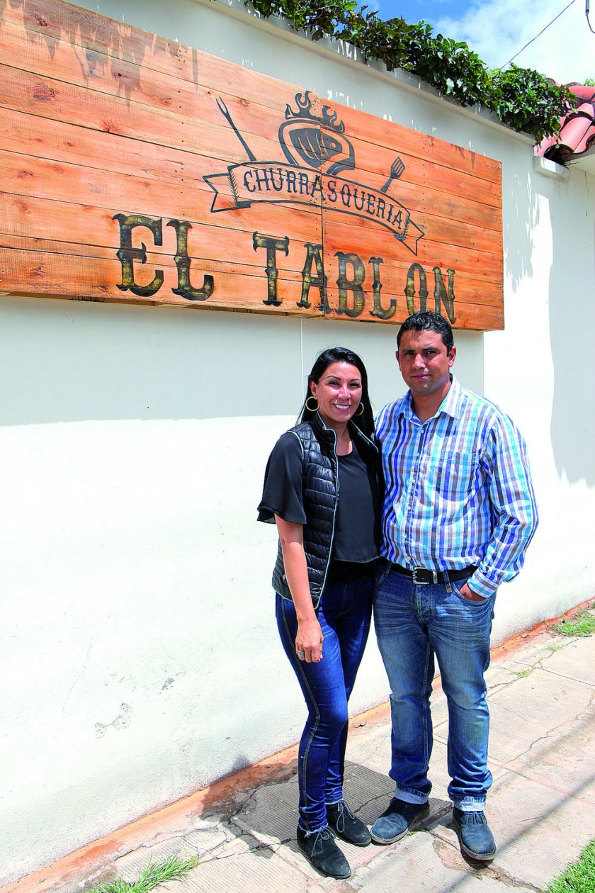 Carla Molina y Erick Serrano.