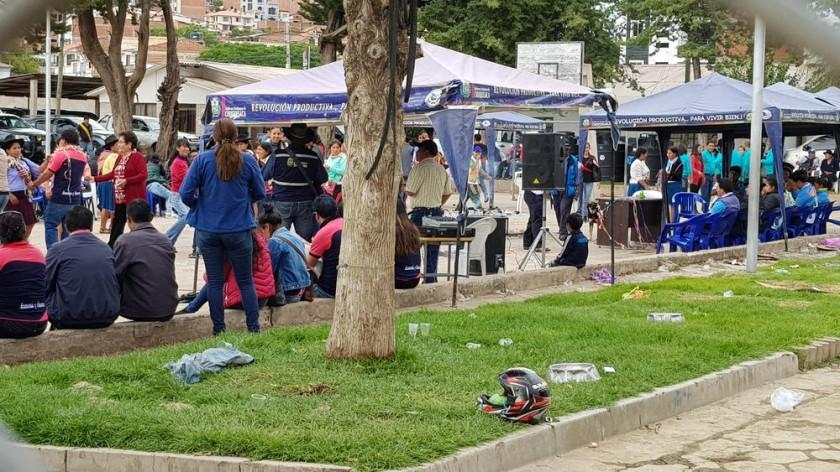 CELEBRACIÓN. La Gobernación organizó una fiesta en el inmueble de La Madona.